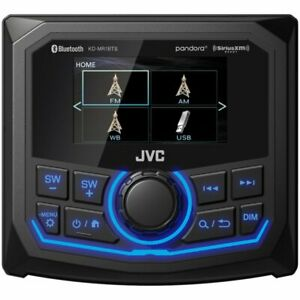 JVC KD-MR1BTS Bluetooth/USB/SiriusXM/MP3 Stereo Marine Digital Media Receiver