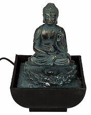 Out of the Blue 78/5842 table de Fontaine en Polyrésine Sitting Bouddha (ux7)