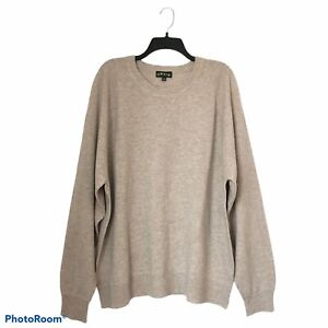 Orvis Mens Wool Cashmere Lightweight Sweater Size XXL