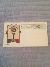 Rotary Club  Mexico FDCs   from 1972