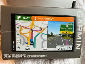 Garmin DriveSmart 61LMT-S North America 6.95 Inch Touch Screen GPS