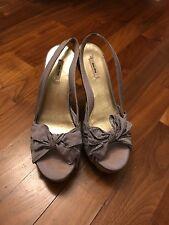 miu miu wooden heels, size 2.5, 35.5