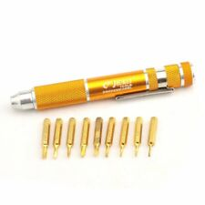 Kit de Tournevis de Précision JACKLY 9 en 1 Electronique Outils de réparation J