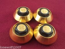 Enkei Wheels Gold Custom Wheel Center Caps Set of 4 # CAP-A54 / A110