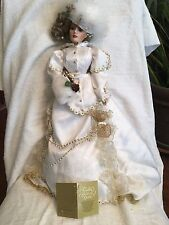 """Franklin Heirloom Doll: First Annual 27"""" Gibson Girl Doll -From Collector's Case"""