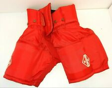 NOS TACKLA KEEPER 100 RED ICE HOCKEY PANTS (NO LACES/BELT) SIZE: JUNIOR 100