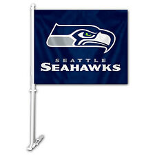 1 Seattle Seahawks NFL Car Flag