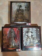 ?S.H. Figuarts Star Wars Darth Vader, Kylo Ren, Executioner StormTrooper Figs?