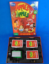 2009 Mattel DISNEY Apples to Apples Card Game #R2819 Nearly Complete Gently Used