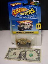 Hot Wheels 1:64 Humvee  Color Shifters - 2008