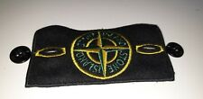 Stone Island original Arm badge with high gloss buttons and silk back