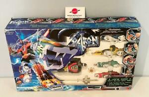 1997 Voltron Trendmasters Diecast Lion Robots Complete With Box
