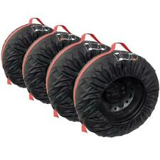 4 X Premium Tyre Wheel Storage Carry Bags R13-r16 Winter/summer/track Day Alloy