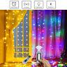 300 LED Curtain Lights String 3m x 3m USB Waterproof Twinkle Xmas Wall Lights