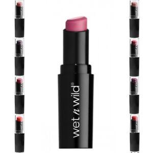 Wet N Wild MegaLast Lip Color - Lipstick Colour Don't Blink Pink, Vamp it up