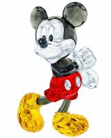 New in Box $325 SWAROVSKI Crystal Living Disney Mickey Mouse #5135887 Rare