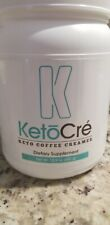 Elevacity Ketocre Keto Coffee Creamer Dietary Supplement 15.9 oz - New! Exp 8/19