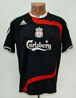 LIVERPOOL ENGLAND 2007/2008 THIRD FOOTBALL SHIRT JERSEY ADIDAS SIZE M ADULT