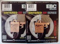 Piaggio MP3 125 / 250 / 300 / 400 / 500 EBC Sintered FRONT Brake Pads SFA260HH