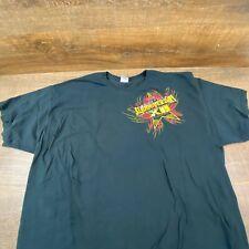 TNA Wrestling Slammiversary XII Dallas-Fort Worth Black T-Shirt Size 3XL Bin-429