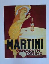 AD Martini Vermouth Torino Alcoholic Beverage - Poster Print 16x20 -