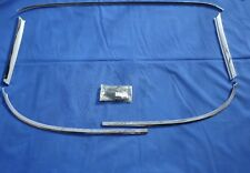 NEW 1963 64 Chevrolet Impala & SS Windshield Molding & CLIPS GM Licensed 2DR HT