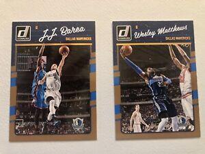 Lot De 2 NBA Panini Donruss 2016/17 Dallas Maverick #76 et 79