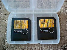 Two (2) 128MB Smart Media SmartMedia 3.3V Cards For Boss, Korg, Roland or Yamaha