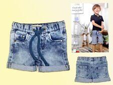 Baby Toddler Bermuda Jean Shorts Shorts Shorts Sweatjeans Size 74 New