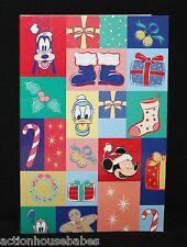 Disney'S Happy Holidays Santa Hat Mickey Mouse Head Lapel Pin On Card - Le 500