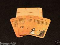 Hexen Lenormand 36 Orakel Karten mit Text und Zeitangabe auf den Karten