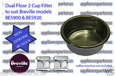 Breville BES900 BES920 Dual Floor 2 Cup Filter BES900/15.10 - NEW - IN STOCK