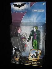 BATMAN THE DARK KNIGHT, DESTRUCTO CASE THE JOKER, NEW ON CARD