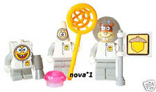LEGO Spongebob Squarepants Star Mini figura Sandy Cheeks ASTRONAUTA Set