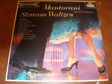 Lot of 3 1950s-60s Mantovani/Paul Mauriat Orchestral 33 RPM Stereo Record Albums