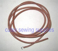"""72"""" Leather Belt For All Treadle Sewing Machines 3/16"""" Wide"""
