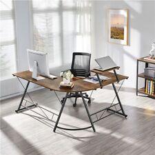 64 L Shaped Computer Corner Desk L Gaming Desk For Home Office Workstation