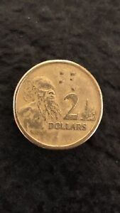 1988 $2 Dollar HH Initials Coin
