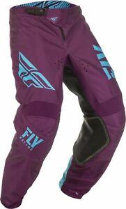 Fly Racing 2019 Kinetic Shield MX Motorcross Off Road Adult Pant Port / Blue