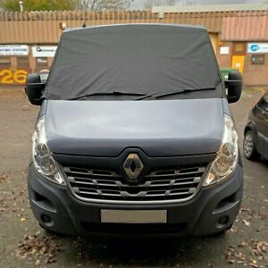 Black out blind Renault Master 2010 + screen cover frost protect wrap curtain