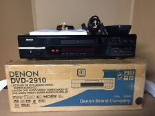 Denon DVD-2910 - DVD / CD / SACD  Player In Original Box