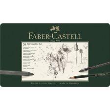 Faber Castell set pitt Graphite grande estuche de metal 112974