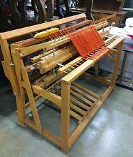 "45"" inch, Herald 6 treadle, 4 harness, Weaving Floor loom"