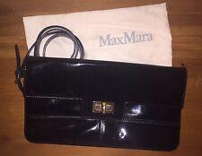 Authentic Black Max Mara Bag