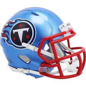 Tennessee Titans Riddell FLASH Alternate Speed Mini Helmet