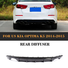 Carbon Fiber Rear Bumper Lip Diffuser Body kit For KIA Optima K5 2014-2015 Refit