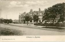PRINTED POSTCARD OF THE ENTRANCE TO HOYLAKE, (NEAR LIVERPOOL) CHESHIRE BY WRENCH