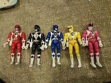 Vintage All 5 Original 1993 Bandai  Power Rangers