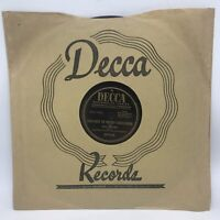White Christmas/God Rest Ye Merry Gentlemen Bing Crosby 78rpm Decca 23778 E-
