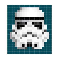 NEW IXXI Star Wars stormtrooper pixel wall art by Until